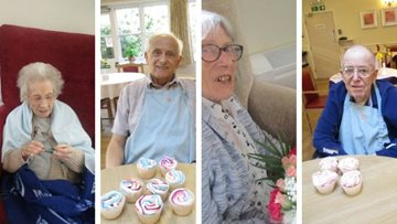 Leicester care home send photos to family members