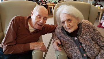 """My wife is my life"" - West Bromwich Residents celebrate Wolves fans 65th wedding anniversary"