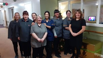 Bonnyrigg care home celebrates Care Inspectorate report