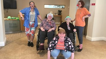 Bishop Auckland care home hosts Comic Relief fundraiser