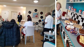 Dementia-friendly coffee morning at Northwich care home