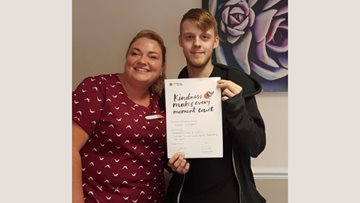 Kindness is rewarded at Swallownest care home