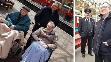 Sandon Residents travel back in time at Bury Transport Museum