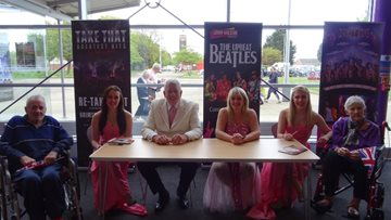 Grimsby care home enjoys a blast from the past with The Upbeat Beatles