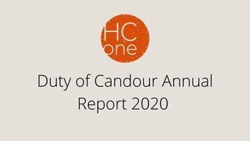 Duty of Candour Annual Report