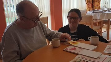 Redcar care home Resident's crafty wish comes true