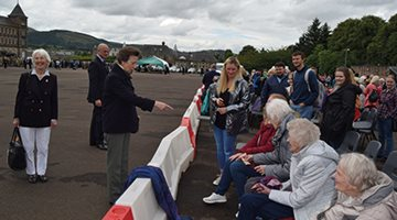 Residents of HC-One's Linlithgow Care Home Meet the Princess Royal