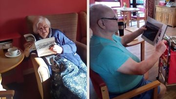 Inverness care home celebrates World Book Day