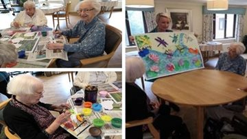 Eastleigh Care Home Gets Creative