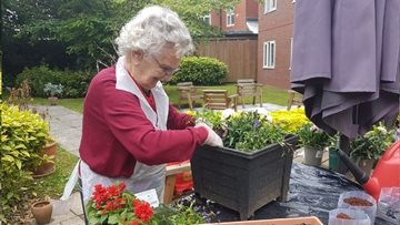 A blooming success for Sutherland Court care home in HC-One gardening competition