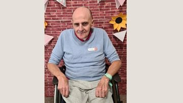 Hatfield Resident receives special HC-One staff name badge