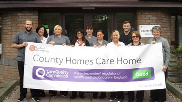 County Homes Enjoys Success in CQC Report
