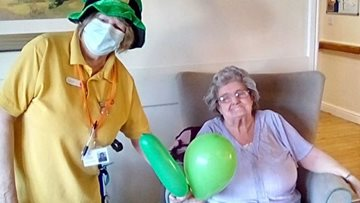 Nottingham care home celebrate St Paddy's Day