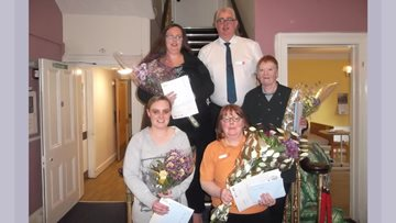 The Birches hold Long Service Awards