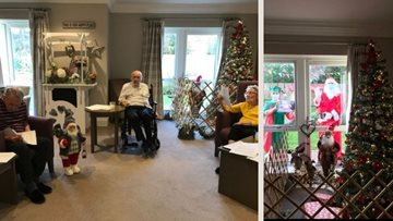 Christmas celebrations at Newton Aycliffe care home