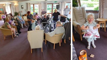 Coalville care home celebrates art in care at Care Home Open Day 2019