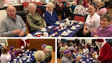 Residents celebrate festive season with Fellowship Club