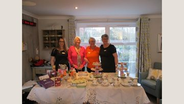 Staffordshire care home raise awareness