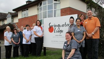 HC-One care home shortlisted for local care home of the year award