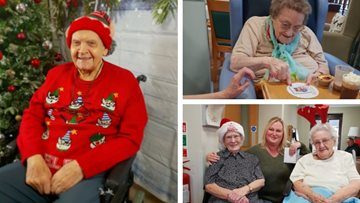 12 acts of Christmas at Tipton care home