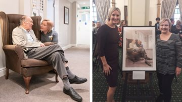 HC-One care home worker celebrated at House of Commons exhibition