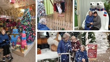 Sheffield care home Residents enjoy magical visit to Brigg garden centre