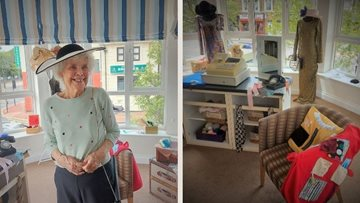 Gateshead care home celebrate opening of Haberdashery shop filled with local and vintage fashion