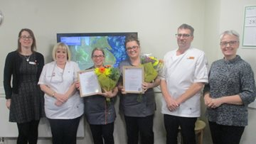 Caring Colleagues Celebrate becoming nursing assistants