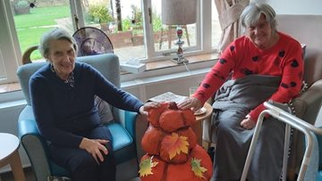 Terrifyingly good celebrations as Moreton-in-Marsh care home celebrates Halloween