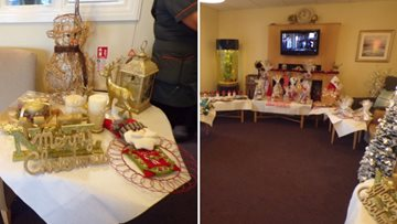 Residents get into the festive spirit with Christmas fair