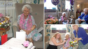 Former Seaham hairdresser celebrates 100th birthday