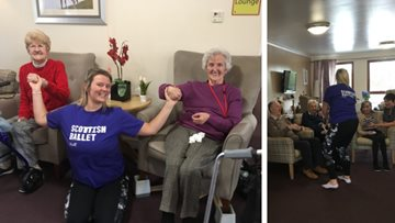 Scottish Ballet visits Inverness care home
