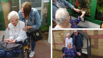 Dunfermline Residents brighten up their day at Butterfly World