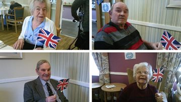 Royal baby fever at Arbroath care home