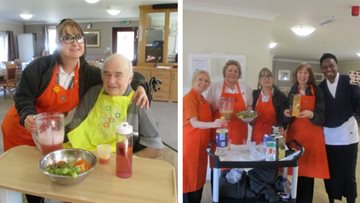 Nutrition and Hydration week at Chelmsford care home