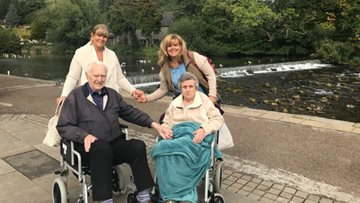 Care home brings Resident's family together for special day out