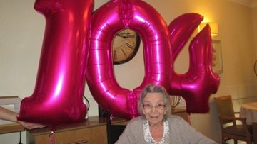 Wakefield care home Residents celebrates 104th birthday
