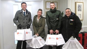 Ashington Grange assist elderly neighbours in Storm Emma