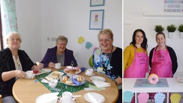 Bellshill care home host coffee morning for Macmillan