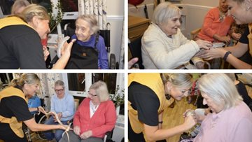 Zoo Lab visits Hayes care home