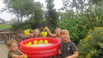 Community summer celebrations at Peterlee care home