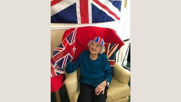 Queen's birthday celebrations at Warrens Hall