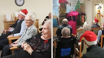 Christmas pantomime delights Residents at Dunfermline care home