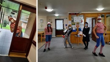 World Book Day fun at Manchester care home