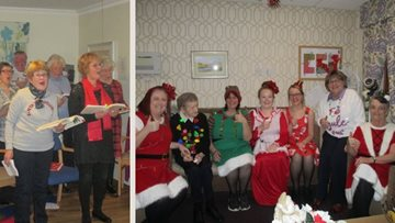Festivities in full swing at Perth care home