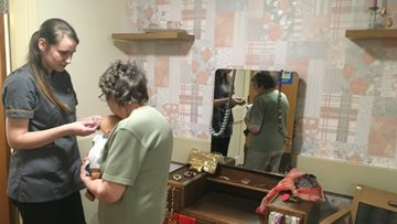 Burntwood care homes vintage decor helps Residents reminisce
