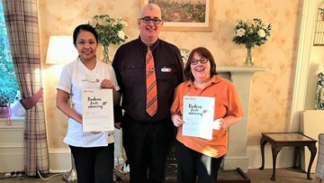 Kindness delivered at The Birches Care Home
