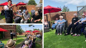 Magical moments at Falkirk care home
