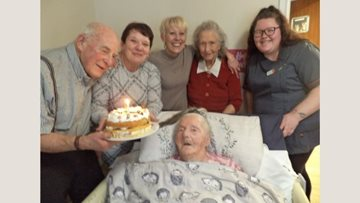 Chelmsford care home Resident celebrates 103rd birthday