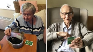 Seeds of hope planted at Arbroath care home